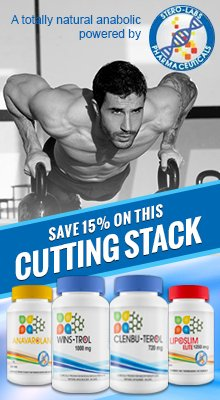 Anabolic Cutting Pack Sterolabs